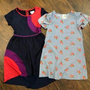3/$25 Girl's Casual Dresses (Bundle of 2)